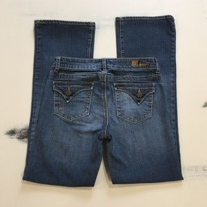KUT FROM THE KLOTH Bootcut Flap Pocket Jeans